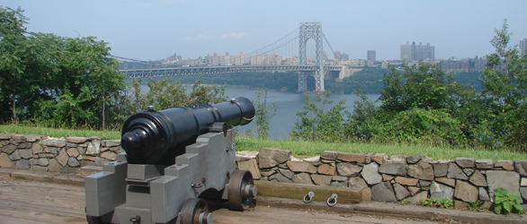 Battery at Fort Lee