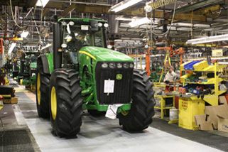John Deere Tractor Works, Waterloo, Iowa