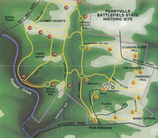 Perryville Trail Map
