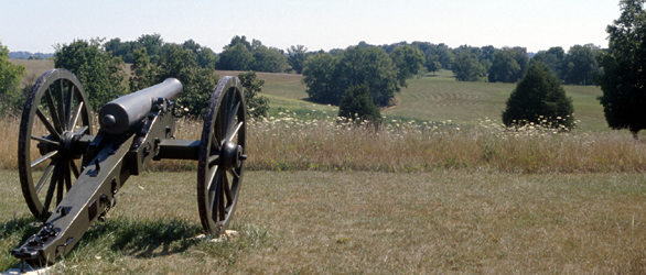 Perryville Battlefield, view from Starkweather Hill